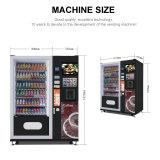 Combinação de preço de fábrica snack/bebidas frias e máquina de venda automática de café LV-X01