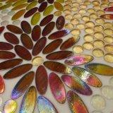 Mosaico de vidrio Elipse los valores de fábrica azulejos de pared