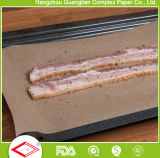 Forno de Silicone Non-Stick Forro de bandeja de papel de cozedura de folhas