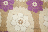 Tissu floral de jacquard de Chenille de tissu de sofa (FTH31139)