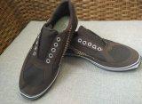 男女兼用のための偶然および快適なズック靴のゴム製足底