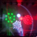 Neuester Gobo + Laser + Röhrenblitz + Effekt 4in1 DJ beleuchten