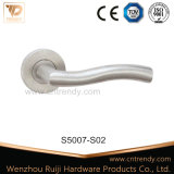 Levier de creux en acier inoxydable tubulaire de la poignée de verrouillage de porte (s5006)