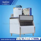 Flake Ice maker con Control PLC y el hielo Bin