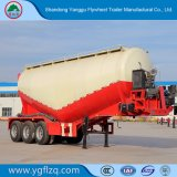 Una buena venta tres secas a granel en polvo de cemento de eje Trailer de fabricación China