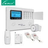 PSTN sem fio GSM de alarme no painel de controle de segurança em casa