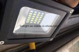 IP65 alto indicatore luminoso di inondazione ricaricabile esterno economizzatore d'energia di lumen 10W LED