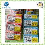 Etiqueta autoadhesiva de la limpieza del hogar de la impresión, etiqueta engomada de las botellas (JP-S149)