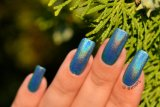 釘の芸術デザインのための21604粒のホログラフィックサファイア青いレーザーのきらめきの粉
