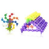 Kind-Plastikschneeflocke-Puzzlespiel-pädagogisches Spielzeug