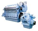 motor diesel marina de alta velocidad del hombre V12-1550 del motor 4-Stroke