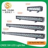 120W bar lumineux pour LED Cree pour le camion de la conduite hors route