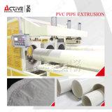 Rohr-Produktionszweig des hohe Leistungsfähigkeits-Plastikrohr-Strangpresßling-Machine/PVC