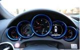 5PCS de matte Binnenlandse Versiering van de Dekking van de Ring van de Meter van het Dashboard voor Porsche 911 991
