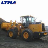 De Lader van Ltma Zl50 de Lader van het Wiel van 5 Ton met Dubbele Opheffende Wapens
