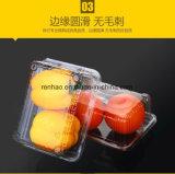 De het beschikbare Transparante Plastic Voedsel van de Supermarkt PVC/Pet/PP/PS/Container van het Schuim van de Cake/van de Bakkerij neemt de Doos van de Verpakking van het Voedsel