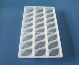 24 bandejas congeladas bandeja de la bola de masa hervida del PCS que empilan la bandeja del plástico de la bandeja