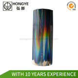 Láser Color Hot Stamping láminas de holograma de lámina de papel y plástico