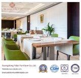 Het eigentijdse Meubilair van het Restaurant van het Hotel met Lijst en Stoel (yb-o-83)