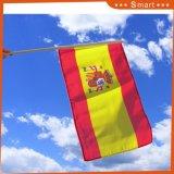 スペインのカスタム示す小型手持ち型のフラグ
