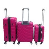 Популярный пакет багажного отделения передвижного блока АБС АБС Hardshell с 4 вращатель колеса тележки чемодан
