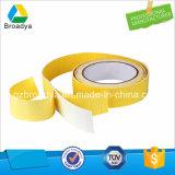Liberación de papel amarillo a doble cara cinta adhesiva de espuma EVA (ES25).