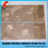 계산되는 3.5mm 명확한 로즈 또는 식물상 또는 Nashiji/Mistlite/Karatachi 또는 장식무늬가 든 유리 제품
