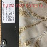 Ткани Silk/металлической шифоновой ткани, Silk/металлической