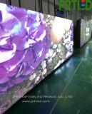 Тонкий аренда 500 x 500 мм алюминиевых светодиодной панели дисплея в помещении Р2.976 мм