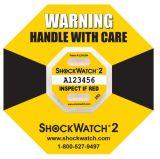 Индикация удара повреждения удара 25g Shockwatch 2