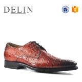 Homens Croc vestido de couro de qualidade Hi Business Equipamento