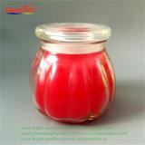 Correia dentada em Red Rose Crystal pode vela com uso reciclado