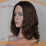 Parrucche piene del merletto dei brevi capelli brasiliani umani del Brown 100% Remy
