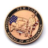 パフォーマンスによってカスタマイズされるデザイン金属の大統領大胆な戦士3Dの硬貨