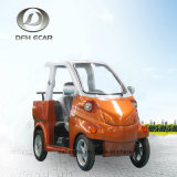 3つのシートの電気小型乗用車のゴルフカートのスクーター