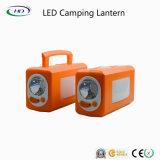 LED 옥외 가벼운 플라스틱 재충전용 야영 손전등