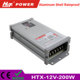 12V 16A 세륨 RoHS Htx 시리즈를 가진 방수 LED 전력 공급