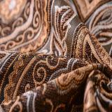 Tessuto 100% di Chenille di Microfiber del jacquard del poliestere per il sofà