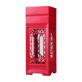 Dom de madeira elegante caixa de acondicionamento de vinho branco, caixa de Vinho