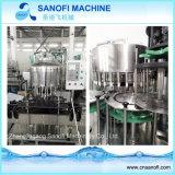 Машина завалки бутылки любимчика/3 в 1 заводе минеральной вода блока разливая по бутылкам