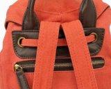 Красный холст школы рюкзак OEM дизайн поездки в рюкзак (RS-H0611)