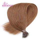 Uitbreiding van het Haar van de Ring van de Kleur van de blonde Nano
