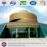 Sinoacmeは鉄骨構造博物館の建物を組立て式に作った