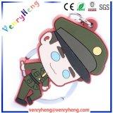 Vendas quente 3D Cartoon Chaveiro de PVC para promoção dons