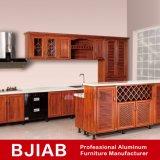 金カシの標準的な金属のホーム家具のアルミニウム食器棚