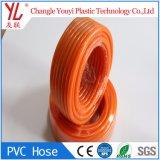 Les Chinois transparent souple Flexible transparente en PVC tressé en fibre