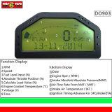 Индикаторная панель черточки цифров LCD приборной панели OBD многофункциональная (903)