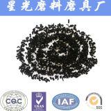 Negro activado granular del precio del carbón del coco para la venta