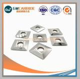 Indexable Tussenvoegsels van het Carbide van het wolfram voor Malen