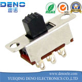 Interruptor deslizante horizontal mini interruptor deslizante